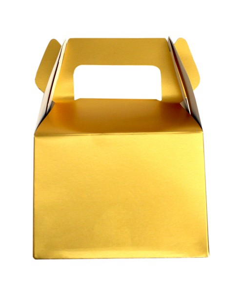 Gold Gable Box Mug